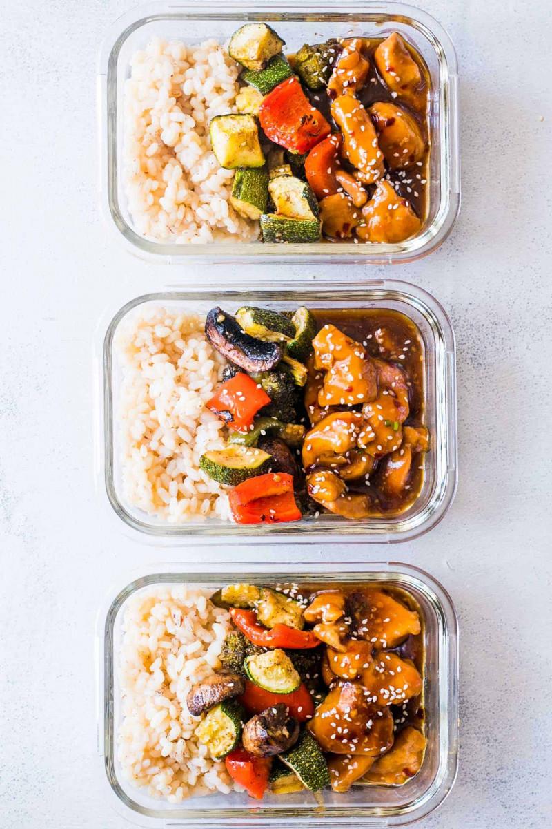 Teriyaki Chicken Stir-Fry Meal Prep