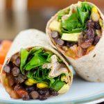 Vegan Black Bean Wrap