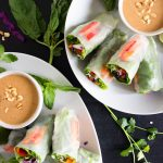 Vegan Salad Spring Rolls 1