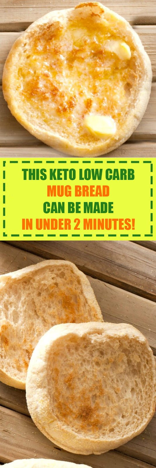 This Keto Low Carb Mug Bread Can Be Made in Under 2 Minutes!