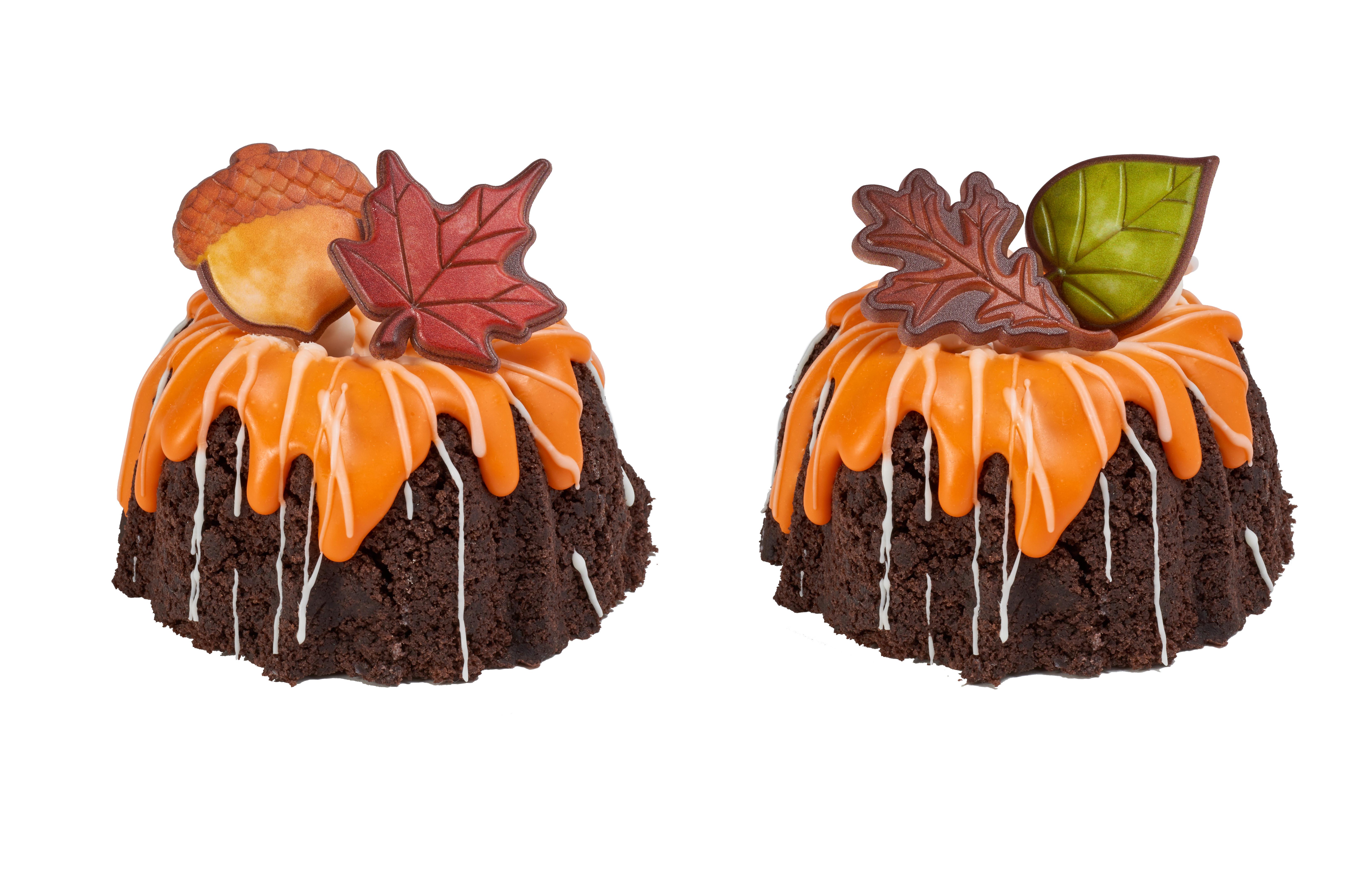 25 Fabulous Autumn Fall Cupcakes  Thankful for Fall Cupcake Rings