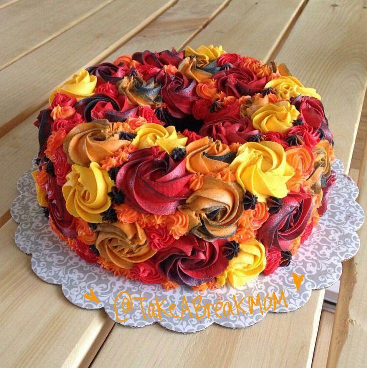 25 Fabulous Autumn Fall Cupcakes  Best 25 Basket weave cake ideas on Pinterest