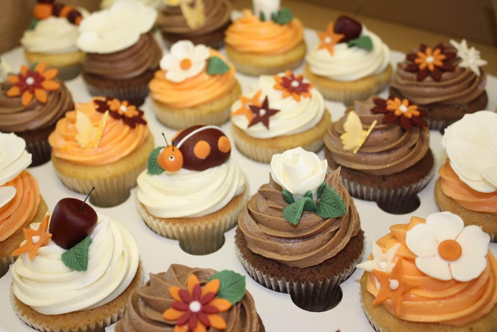 25 Fabulous Autumn Fall Cupcakes  29 Fall Themed Cupcakes for This Season