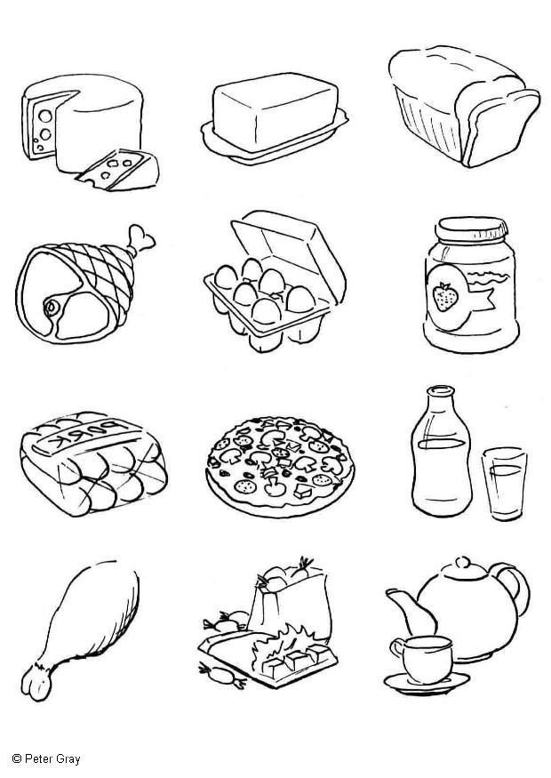 4 Thanksgiving Pies On One Sheet Tray  Página para colorir alimentos img 6933