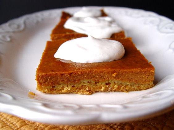 4 Thanksgiving Pies On One Sheet Tray  Pumpkin Pie Sheet Cake