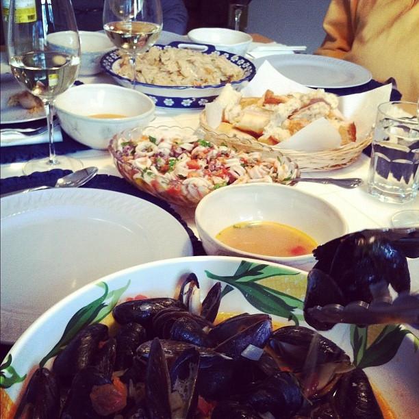 7 Fishes Italian Christmas Eve Recipes  Seven Fish Feast an Italian Christmas eve by spantil via