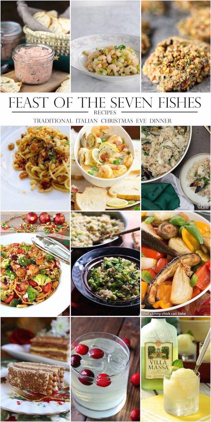 7 Fishes Italian Christmas Eve Recipes  Marinated Shrimp Salad gluten free paleo A Healthy