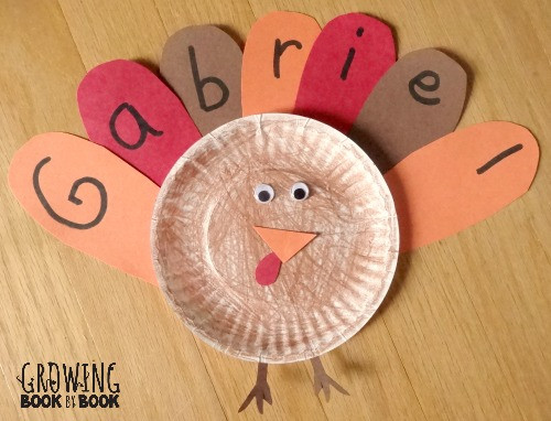 A Turkey For Thanksgiving Activities  Name Activities Feather Letter Turkey