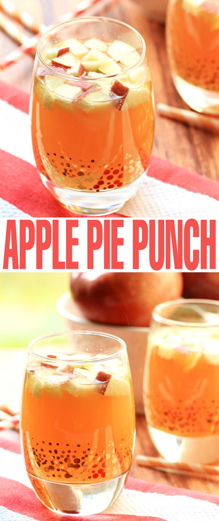 Alcoholic Thanksgiving Drinks  Non Alcoholic Apple Pie Punch Frugal Mom Eh