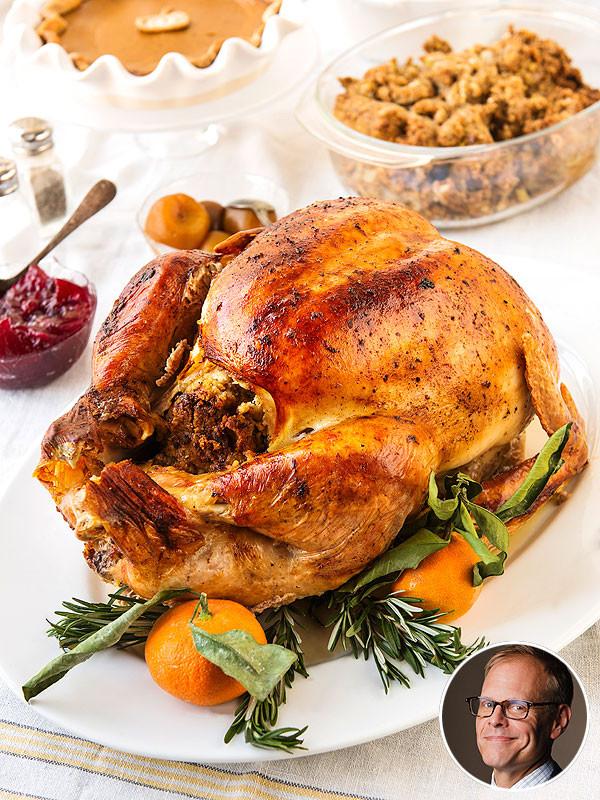 Alton Brown Thanksgiving Turkey  Alton Brown s Grilled Thanksgiving Turkey Recipe and Tips
