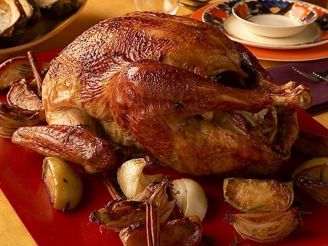 Alton Brown Thanksgiving Turkey  Good Eats Roast Turkey from CookingChannelTV