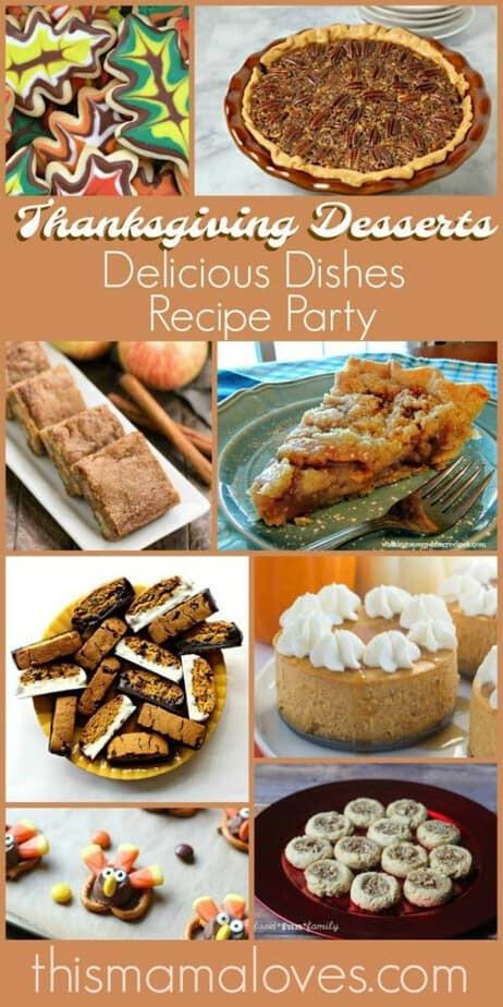 Amazing Thanksgiving Desserts  Amazing Thanksgiving Dessert Recipe Ideas