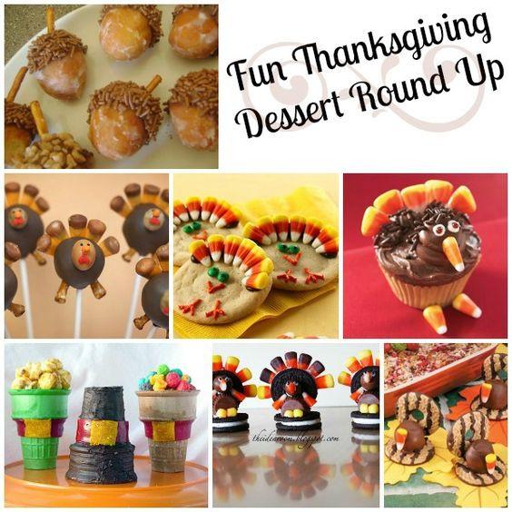 Amazing Thanksgiving Desserts  Fun Thanksgiving Desserts Round Up