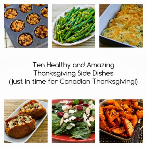 Amazing Thanksgiving Side Dishes  Ten Healthy and Amazing Thanksgiving Side Dishes just in