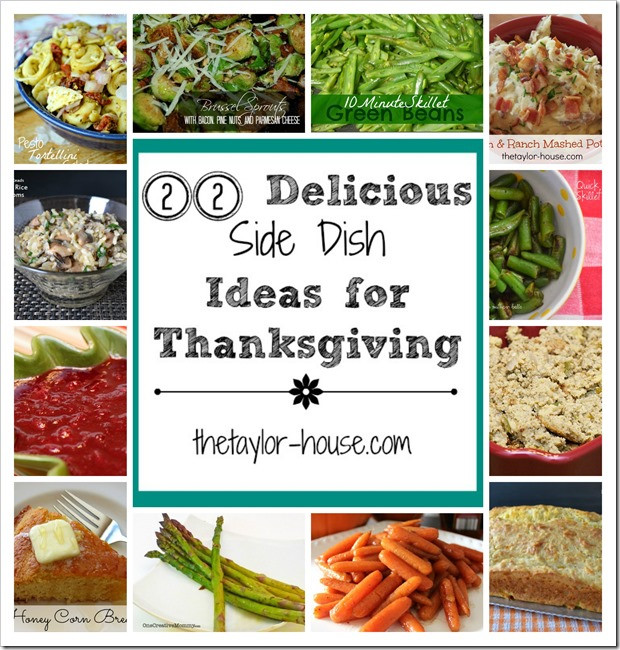 Amazing Thanksgiving Side Dishes  22 Delicious Side Dish Ideas to Make for Thanksgiving