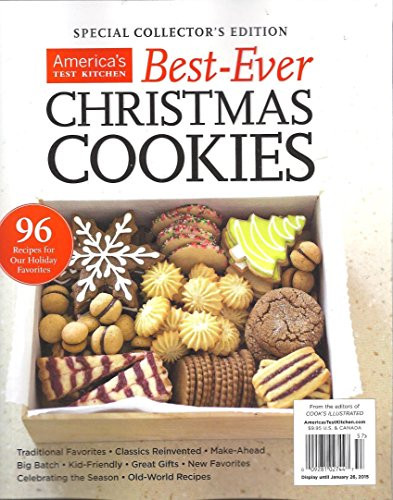 America'S Test Kitchen Christmas Cookies  AMERICA S TEST KITCHEN BEST EVER CHRISTMAS COOKIES SPECIAL