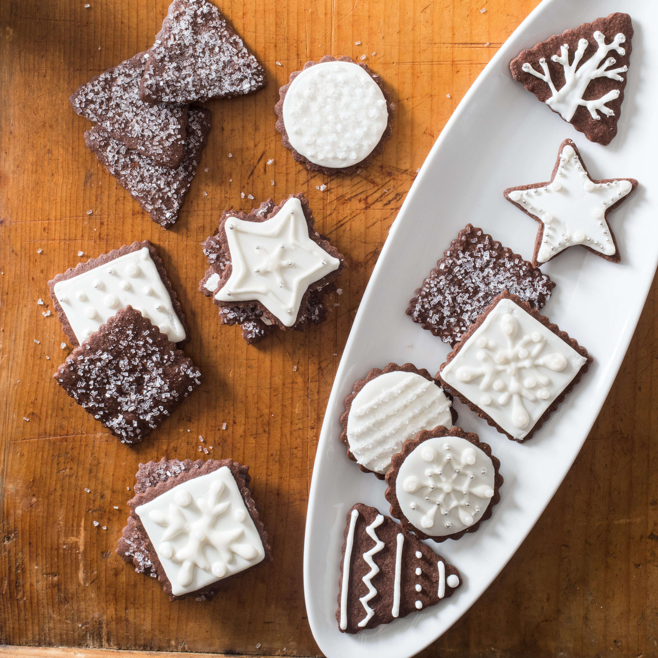 America'S Test Kitchen Christmas Cookies  Easy Holiday Cocoa Sugar Cookies