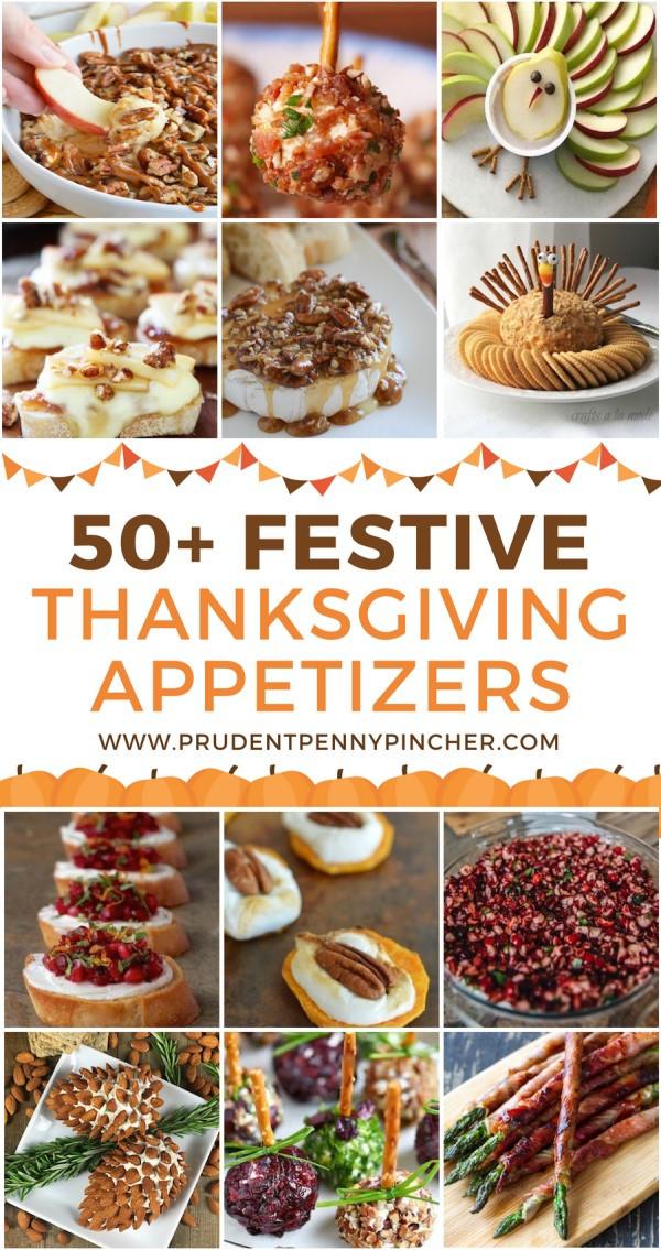 Appetizers For Thanksgiving Dinner  50 Festive Thanksgiving Appetizers Prudent Penny Pincher