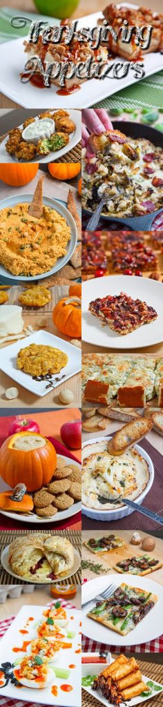 Appetizers For Thanksgiving Dinner  Thanksgiving Appetizer Recipes Closet Cooking