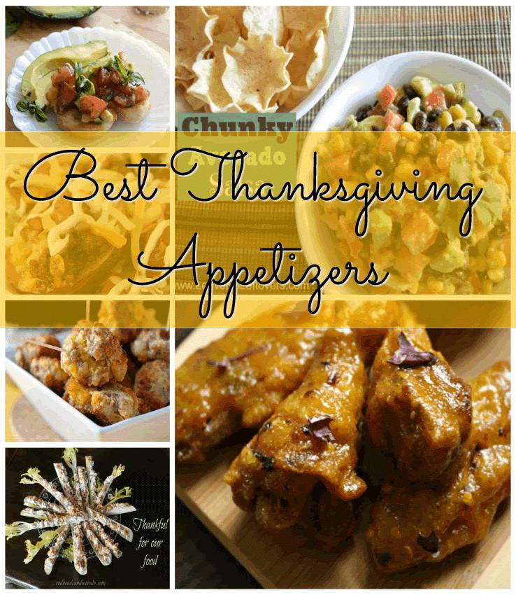 Appetizers For Thanksgiving Dinner  Best Thanksgiving Appetizers Thanksgiving Acadiana s