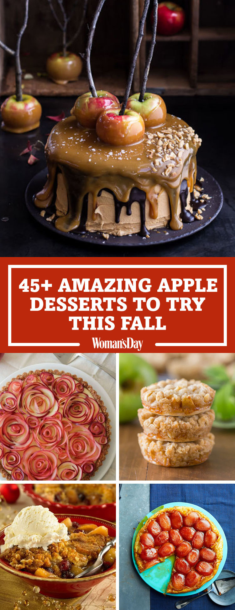 Apple Recipes For Fall  50 Easy Apple Desserts for Fall Best Recipes for Apple