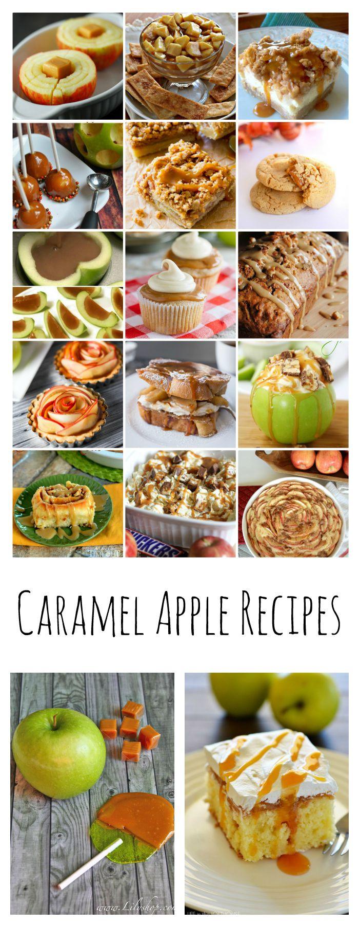 Apple Recipes For Fall  Caramel Apple Recipes The Idea Room