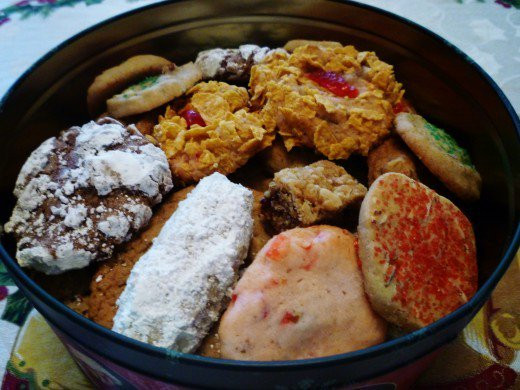 Assorted Christmas Cookies  Easy Good Recipe Christmas Cookies from our neighbor Mrs
