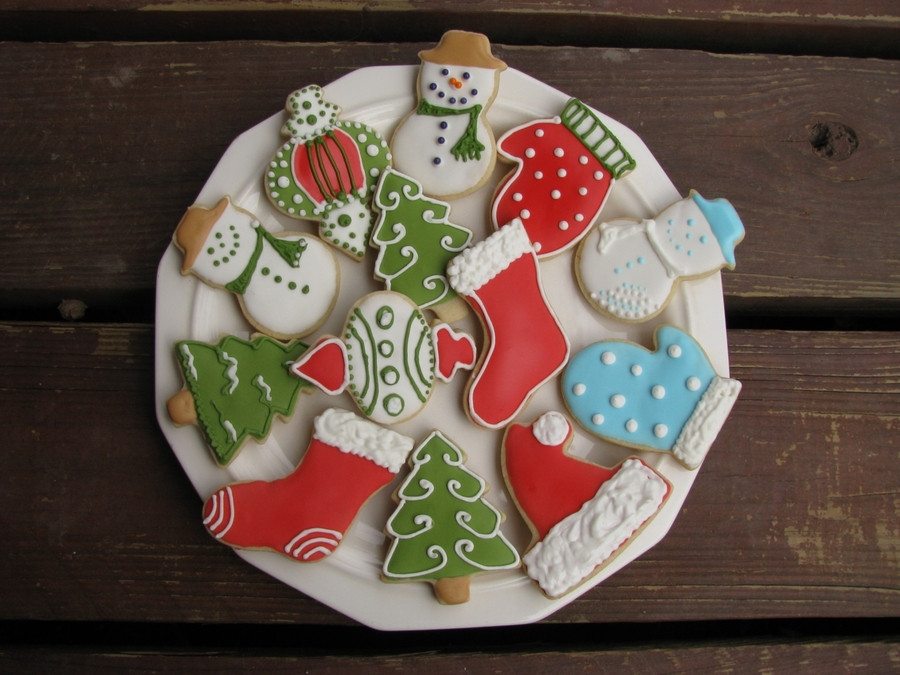 Assorted Christmas Cookies  Assorted Christmas Cookies CakeCentral