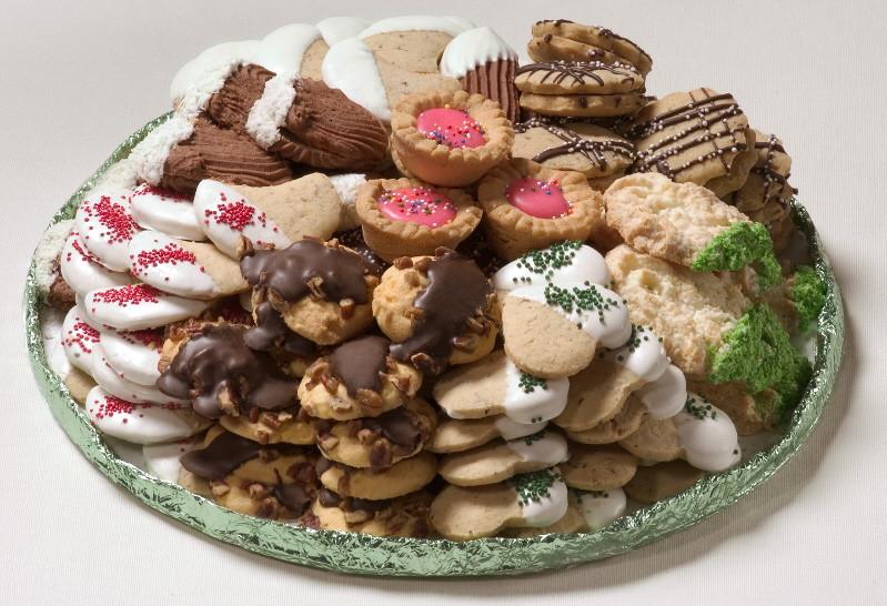 Assorted Christmas Cookies  Chicago Assorted Cookies