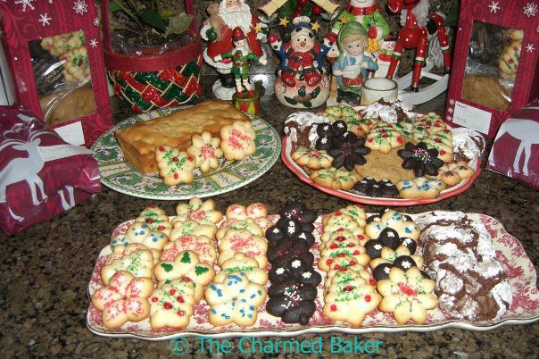 Assorted Christmas Cookies  The Charmed Baker An Assortment of Cookies