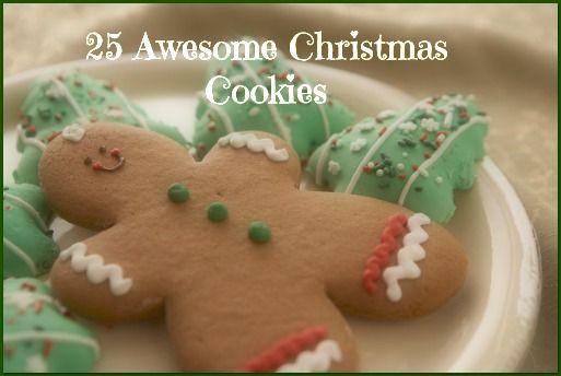 Awesome Christmas Cookies  25 Awesome Christmas Cookies mmy