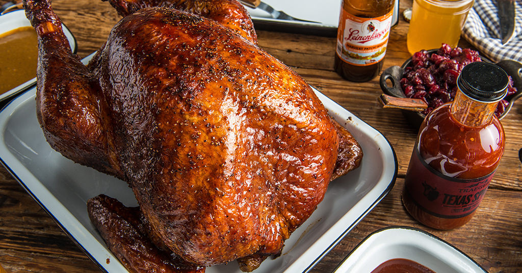 Bbq Thanksgiving Turkey  Thanksgiving BBQ Turkey Recipe