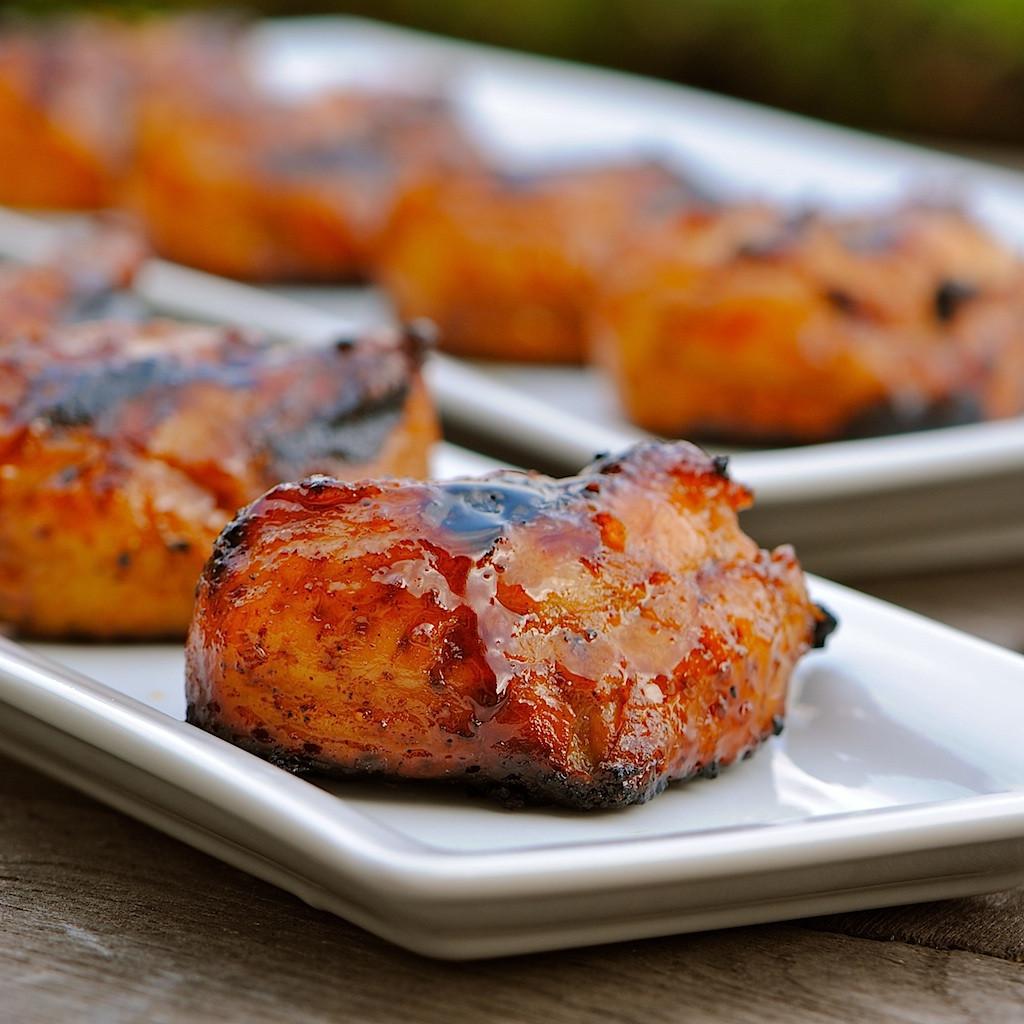 Bbq Thanksgiving Turkey  JULES FOOD BBQ Turkey Tails with Hoisin Sesame Glaze