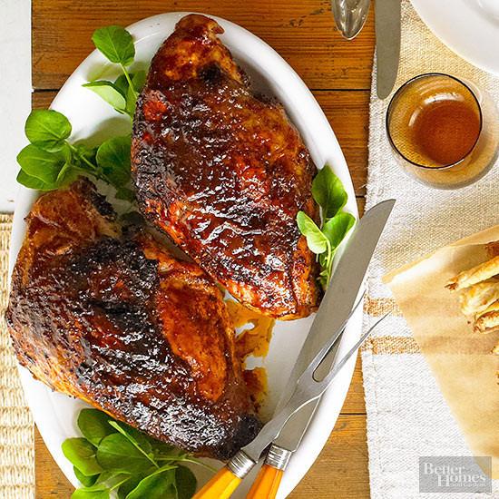 Bbq Thanksgiving Turkey  BBQ Spice Rubbed Turkey Breast