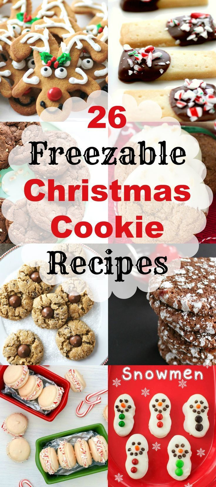 Best Christmas Cookies To Freeze  203 best Cookie Walk Ideas images on Pinterest