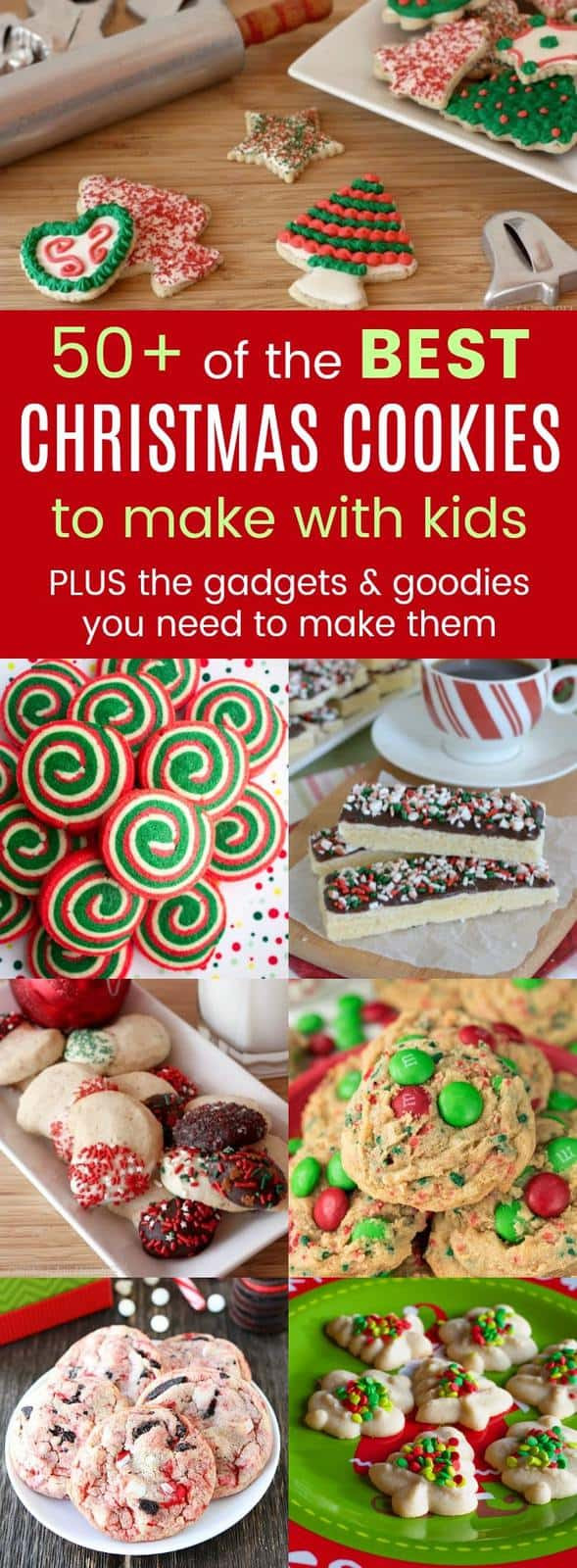 Best Christmas Cookies To Make  The Best Christmas Cookies for Kids Cupcakes & Kale Chips