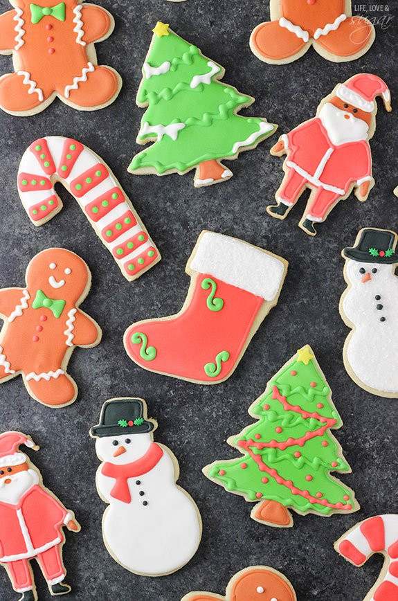 Best Christmas Cutout Cookies  The Softest and Best Christmas Sugar Cookies All Created