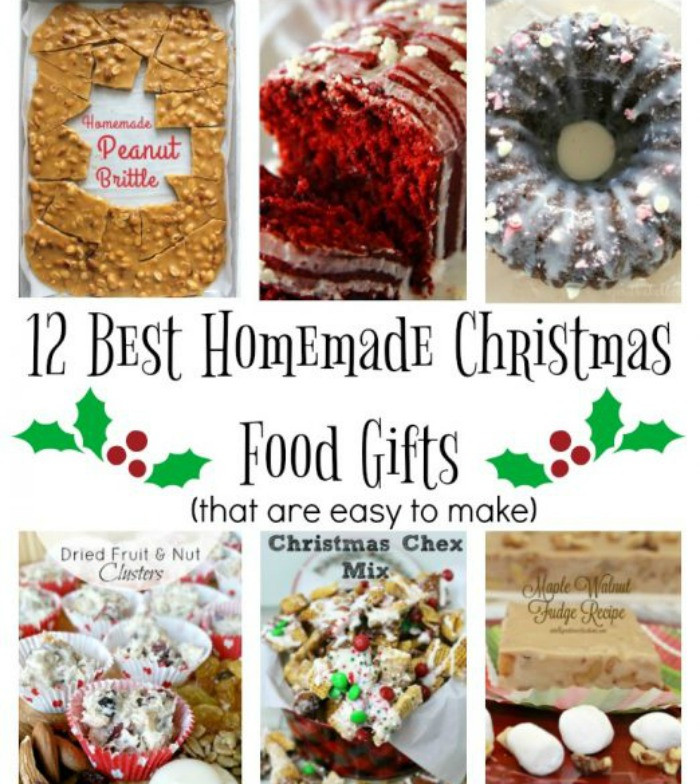 Best Christmas Food Gifts  Best Homemade Christmas Food Gifts 12 Days of Christmas