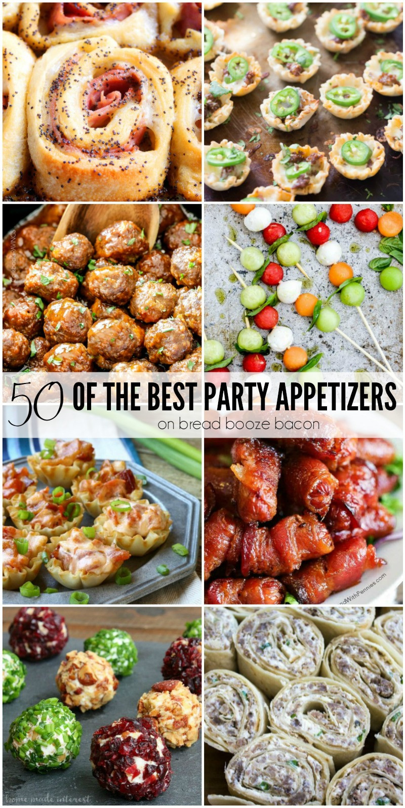 Best Christmas Party Appetizers  50 of the Best Party Appetizers • Bread Booze Bacon