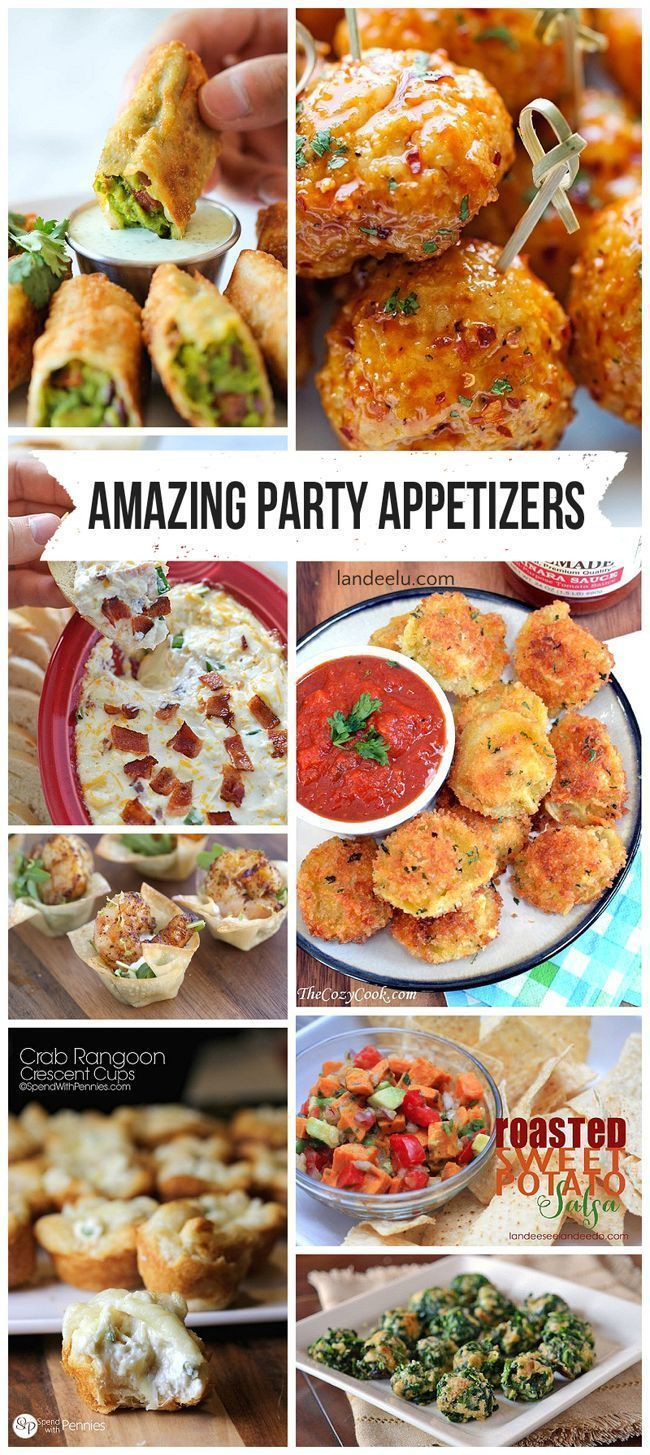 Best Christmas Party Appetizers  Most Amazing Party Appetizer Recipes in the ENTIRE WORLD