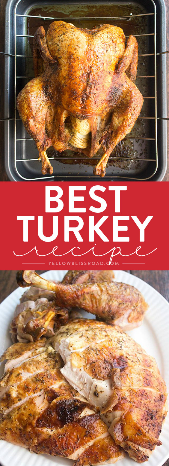Best Cooked Turkey For Thanksgiving  Best Thanksgiving Turkey Recipe How to Cook a Turkey