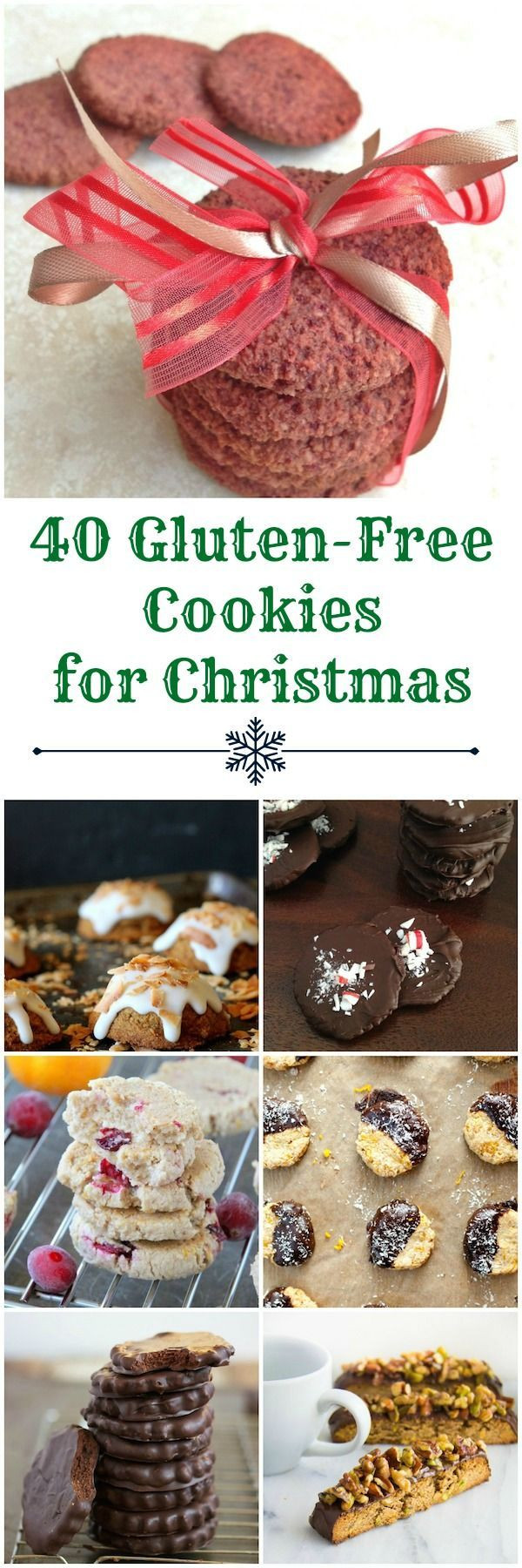 Best Gluten Free Christmas Cookies  100 Christmas Cookie Recipes on Pinterest