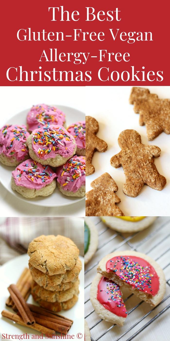 Best Gluten Free Christmas Cookies  The Best Gluten Free Vegan Allergy Free Christmas Cookie