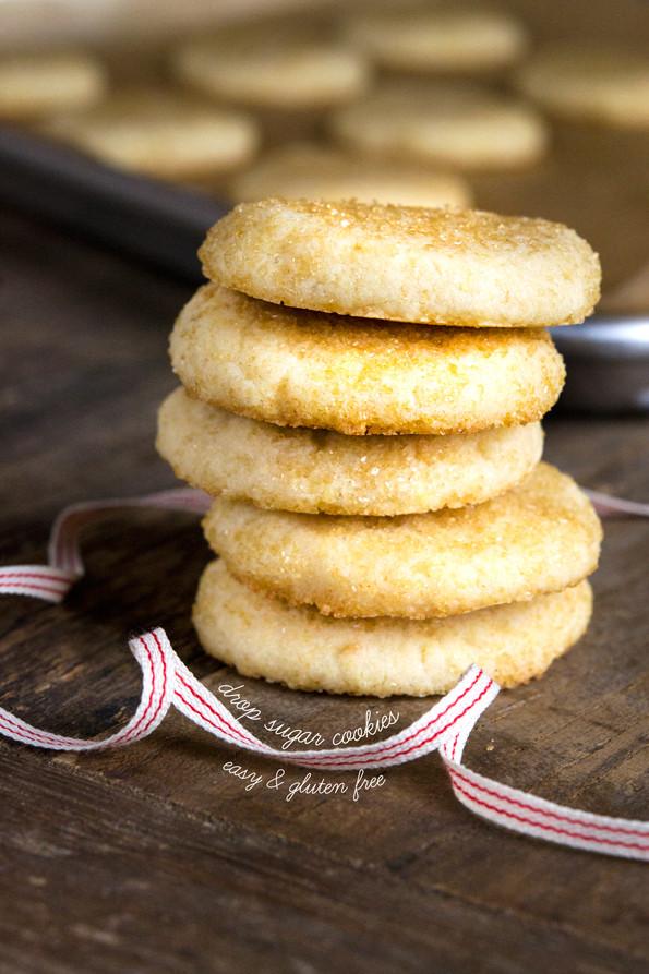 Best Gluten Free Christmas Cookies  Gluten Free Drop Sugar Cookies ⋆ Great gluten free recipes