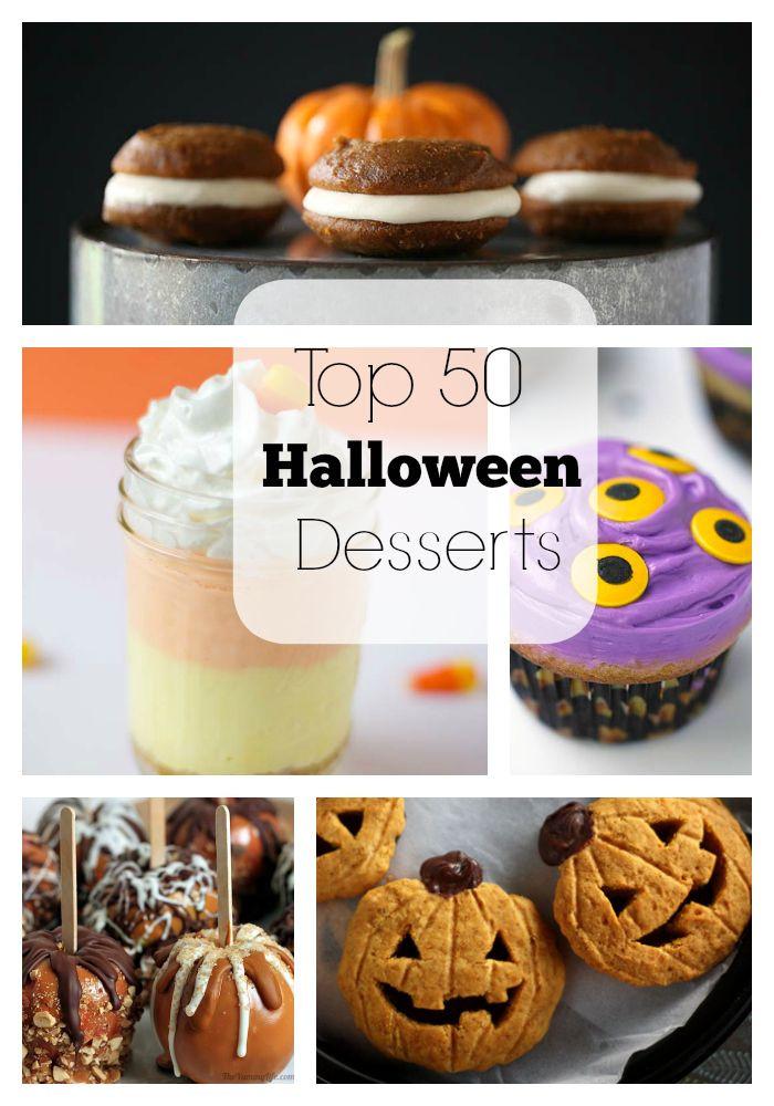 Best Halloween Desserts  Top 50 Halloween Desserts