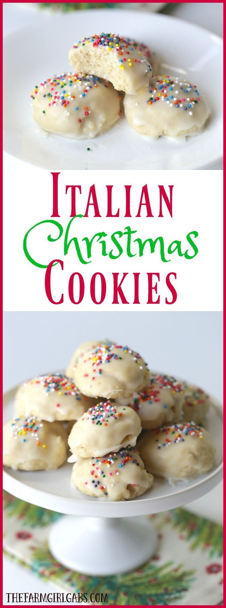 Best Italian Christmas Cookies  Best 25 Italian christmas cookies ideas on Pinterest