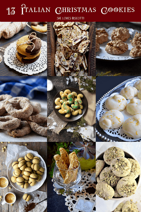 Best Italian Christmas Cookies  Italian Christmas Cookies 13 of the Best Recipes She