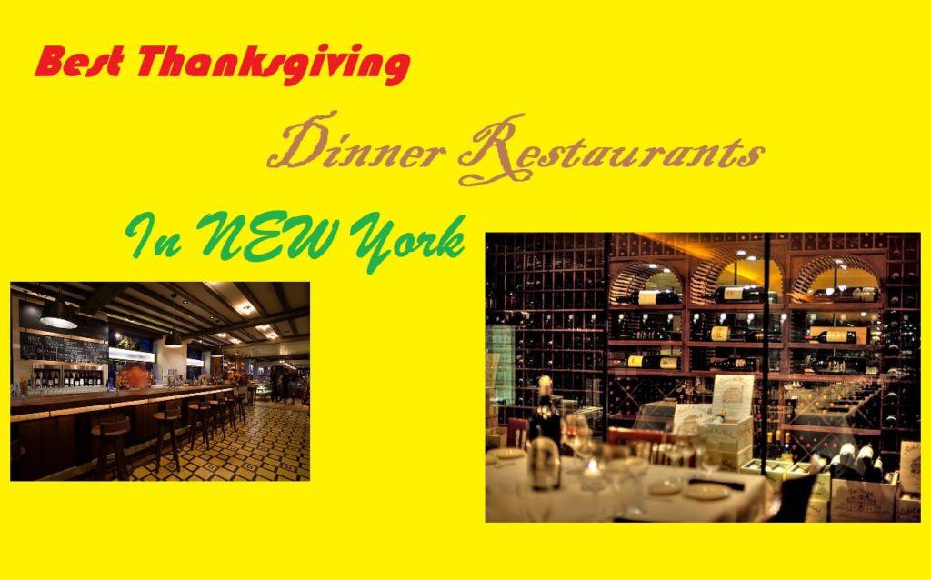 Best Thanksgiving Dinner Nyc  Top Restaurants for Thanksgiving Dinner in NYC