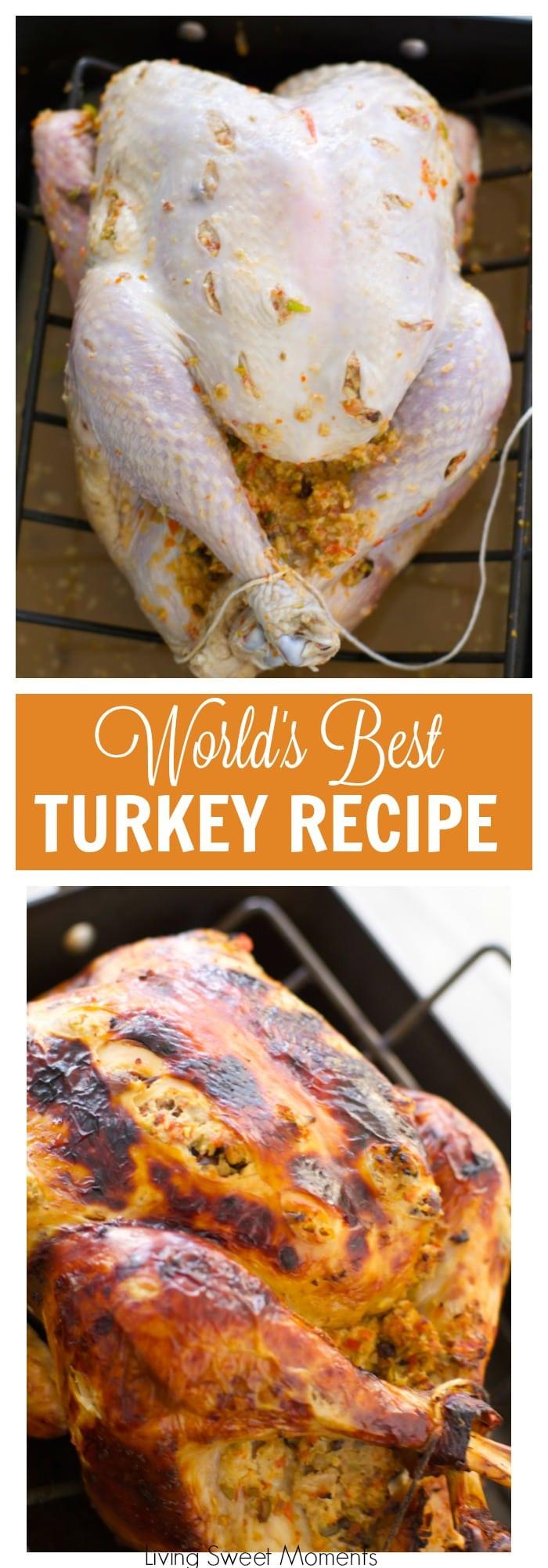 Best Turkey Recipe For Thanksgiving  The World s Best Turkey Recipe A Tutorial Living Sweet