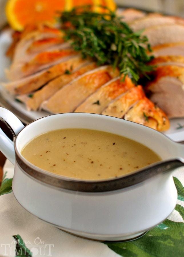 Best Turkey Recipe For Thanksgiving  The Best Turkey Gravy Recipe Mom Timeout